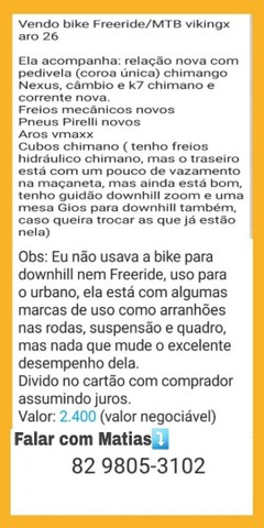 Bike Freeride/MTB viking aro 26 - Foto 2