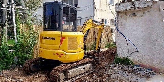 Mini escavadeira, Demolição, pavimentação, pavers, pavis,  - Foto 5