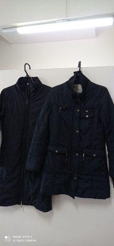 Vendo dois casacos feminino tamanho p ok
