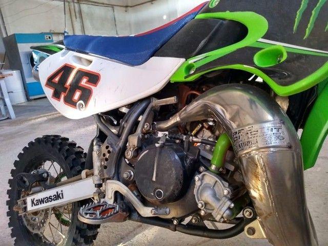 Kx 65cc 2009 oficial cheia de acessórios - Foto 4