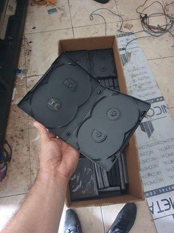 Capinha para cd/dvd 200u para 4 discos  - Foto 3