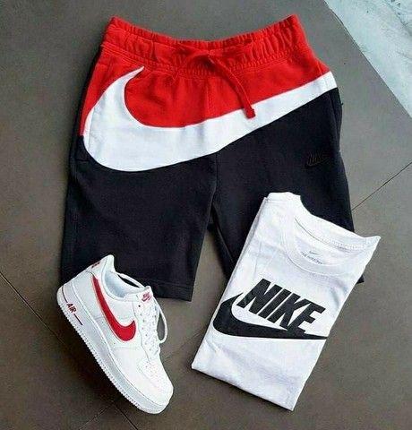 KIT Com 1 Bermuda + 1 camiseta + 1 tênis adulto Original  2021 - Foto 4