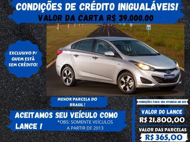 Hyundai Hb20s 2014  1.6 - Antes do carro vem o crédito, você já o possue? Pense nisto!
