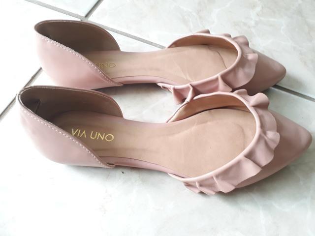 0d875526a Sapatilha Via Uno e sapato Arezzo n.39 90,00 - Roupas e calçados ...