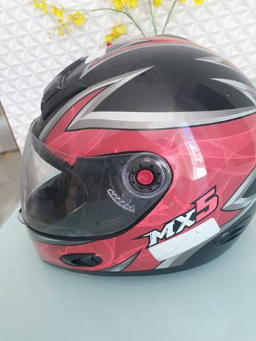 Capacete MX5 e Fly