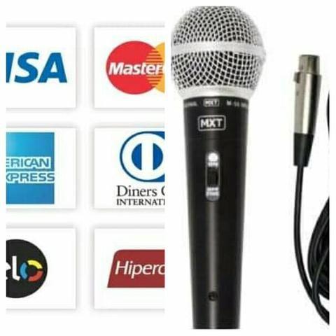 98802-6248 microfone proficional em metal com fio RS 59