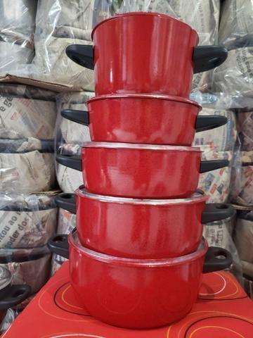 Jogo de panelas várias cores - Foto 2