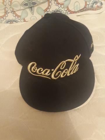 Boné aba reta New era coca cola - Bijouterias 260e6b2901f