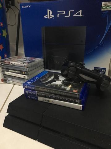 Ps4 + jogos PS3/PS4 - Foto 2