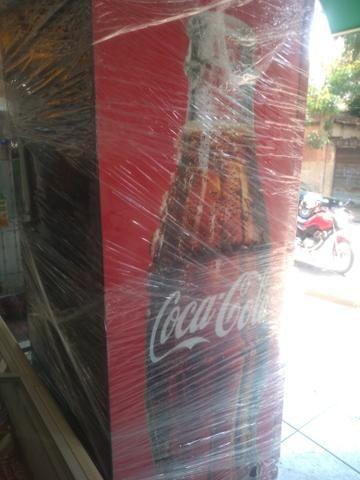 Geladeira Metal frio coca