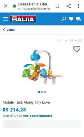 Mobile Eletrônico Tiny Love - Brinquedo para berço