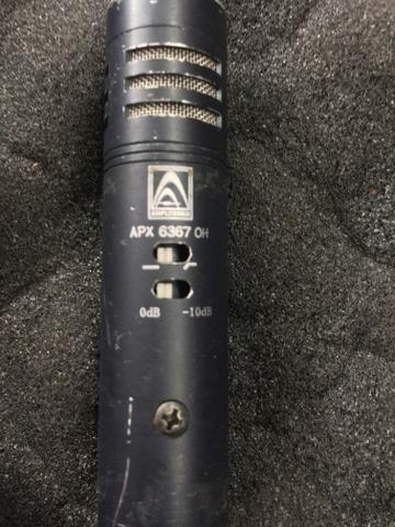 Microfone amplitronix apx6367