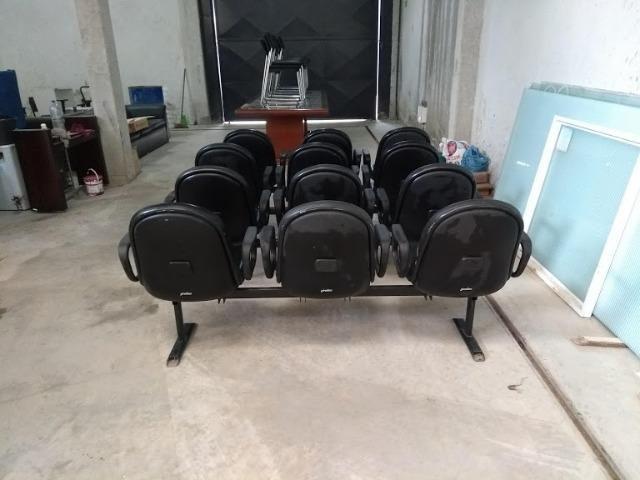 Cadeira Conjugada de Espera - Foto 2