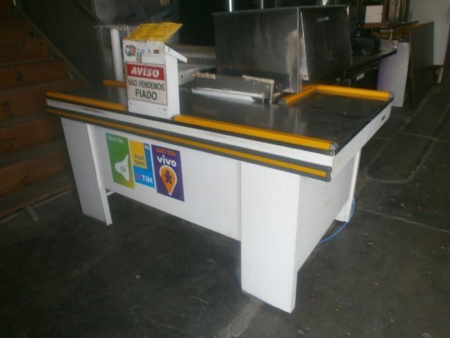 Balcão caixa de mercado - check out - Foto 4