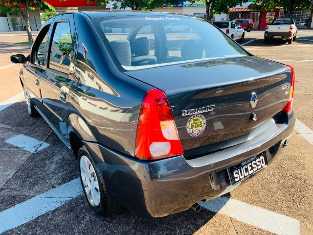 Renault / Logan Expression 1.0 Flex - (Com Direção Hidráulica) - - Foto 4