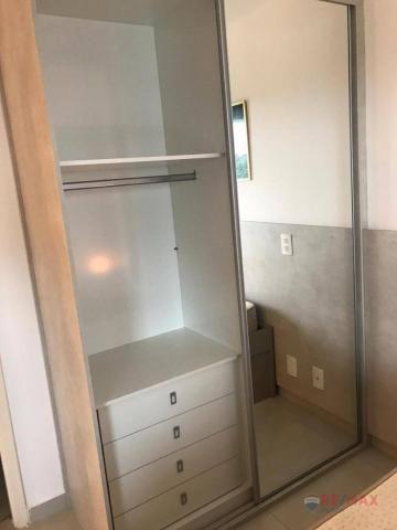 Apartamento com 1 dormitório para alugar, 40 m² por R$ 1.800,00/mês - Jardim Tarraf II - S - Foto 17