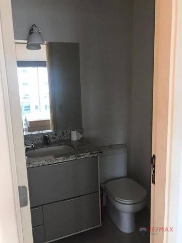 Apartamento com 1 dormitório para alugar, 40 m² por R$ 1.800,00/mês - Jardim Tarraf II - S - Foto 19