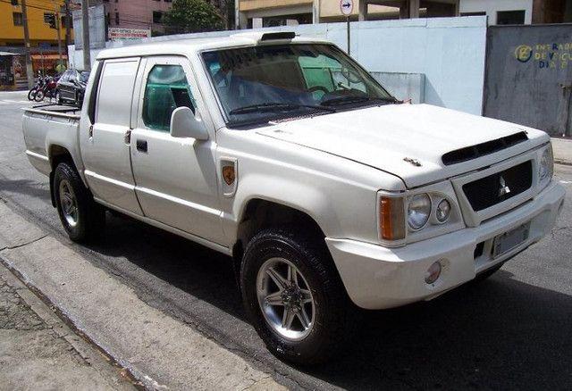 L200 RIII rally Sertões 2003 Turbo, Intercooler,4x4 diesel (leia o anúncio completo) - Foto 20