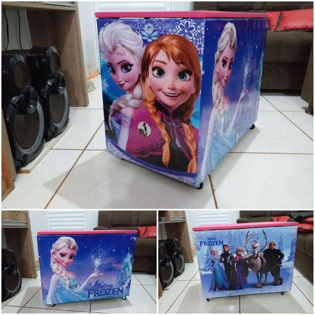 Caixa de brinquedos 40x50x70cm