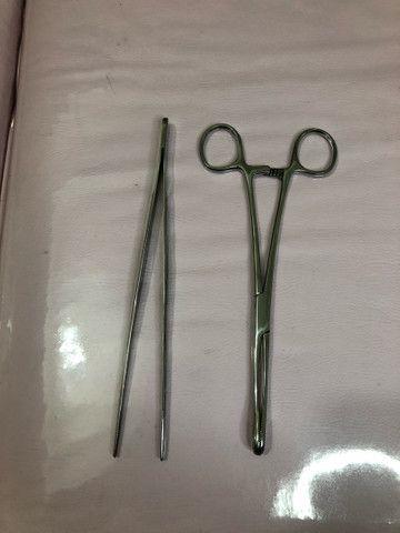 Pinças para piercing
