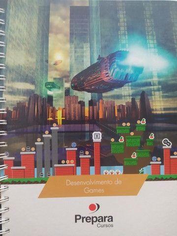 Livro novo do curso de Desenvolvedor de games