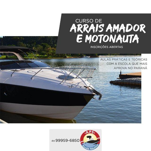 Curso de Arrais Amador e Motonauta - Foto 2