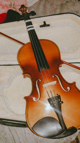 Violino novo, poucas vezes de uso - Foto 2