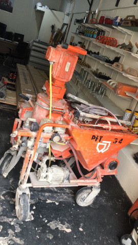Máquina de projetar reboco PFT G4 - Foto 2