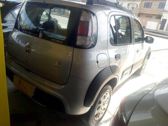 Fiat Way 1.4 completo + Gnv ent + 48 x 770,00 1ª parcela pago pela loja - Foto 4