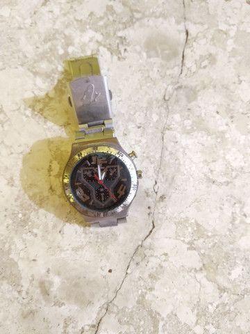 Relógio c/ pulseira de aço - Foto 3
