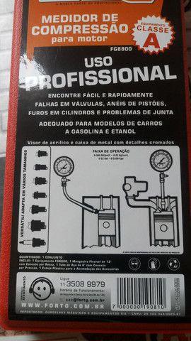 Manômetro de pressão de cilindro - Foto 3