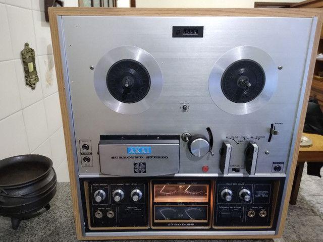 Tape Deck Rolo Akay 1730 D SS - Foto 3