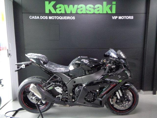 Kawasaki ZX-10R Preta 2020
