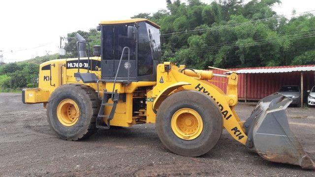 Pá Carregadeira HL760-7A 2012 - Foto 2