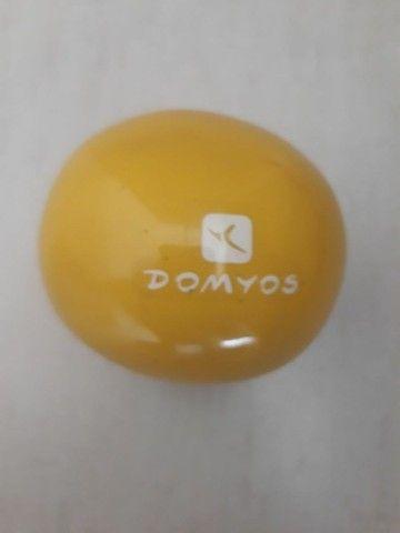 Bola de pilates grande 55cm + Bola de pilates com peso - Foto 5