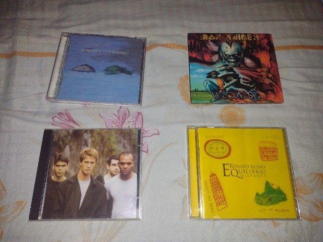 CDs e DVDs de Rock - Nacional e Internacional - Leia a descrição