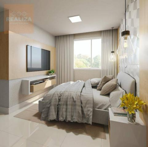 Apartamento com 2 dormitórios à venda, 49 m² no Eusébio. - Foto 9
