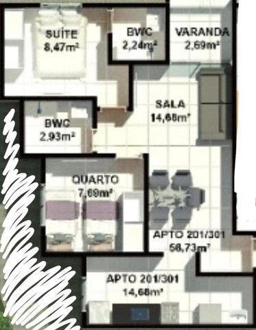 Apartamento de 02 quartos nos Bancários. últimas unidades! - Foto 11