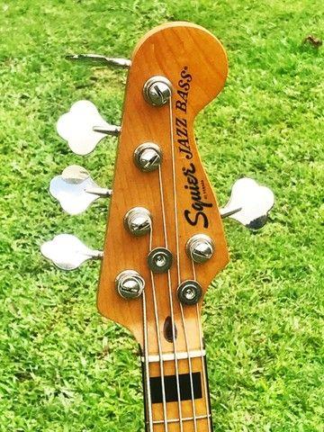 Contrabaixo Fender Squier Classic Vibe 70S Jazz Bass V MN 037 4550 521 Natural - Foto 2