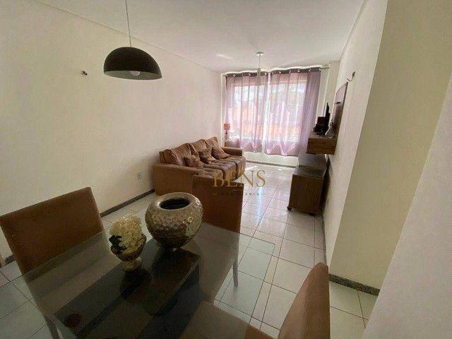 Apartamento com 2 dormitórios para alugar, 73 m² por R$ 1.400,00/mês - Catolé - Campina Gr - Foto 4