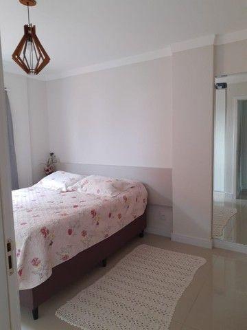 lindo apartamento no Gravatá Navegantes mobiliado 03 dormitórios ótima localização - Foto 17