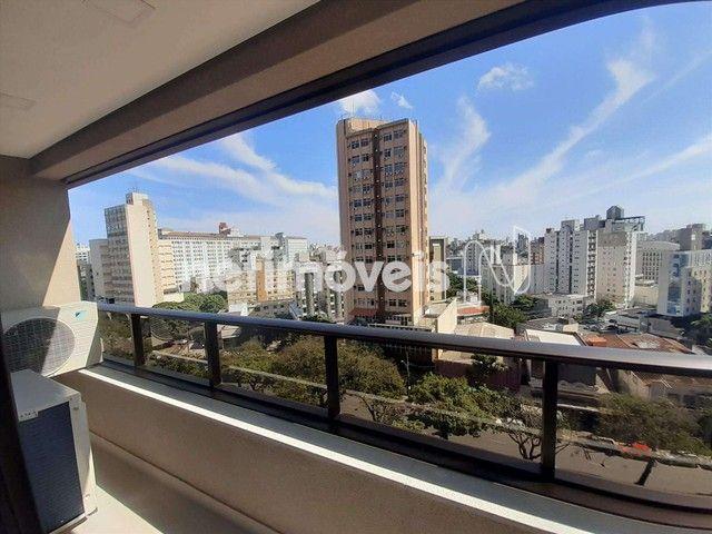 Apartamento para alugar com 1 dormitórios em Santa efigênia, Belo horizonte cod:857554 - Foto 4