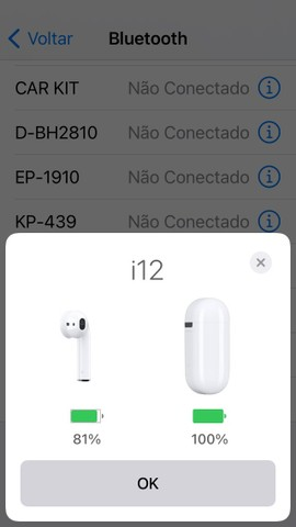 ***Promoção*** Fone De Ouvido Sem Fio Esportivo Bluetooth AirPod - Foto 5