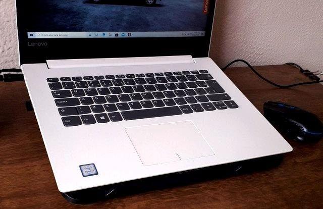 notebook lindo branco, lenovo i3, 6 geração, 4gb - Foto 3