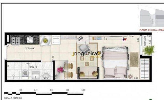 Ótimo Studio de 24m² à venda no Campo Grande - São Paulo/SP. Com Cozinha, banheiro e dormi - Foto 4
