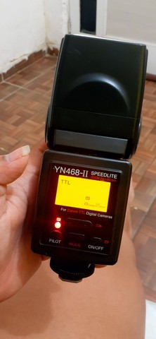 Flash Yongnuo YN 468ll (TTL) (Canon e Nikon) - Foto 4