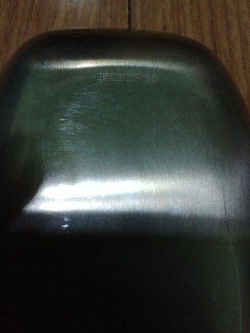 Bandeja de petiscos em madeira e inox Hercules - Foto 2