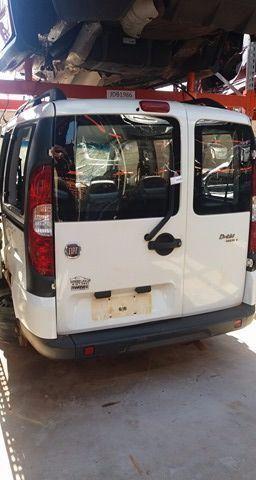 Peças usadas Fiat Doblo 2012 2013 1.8 16v 132cv flex câmbio manual