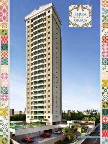 Apartamento na Ladeira da Graça, 3/4 sendo 2 suítes, 102 m², Com área de lazer completa,