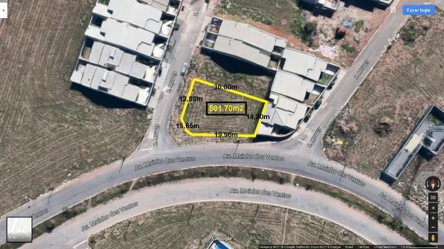 Lote Avenida Moinho dos Ventos, 501m2, Esquina em frente anel viário - Foto 2